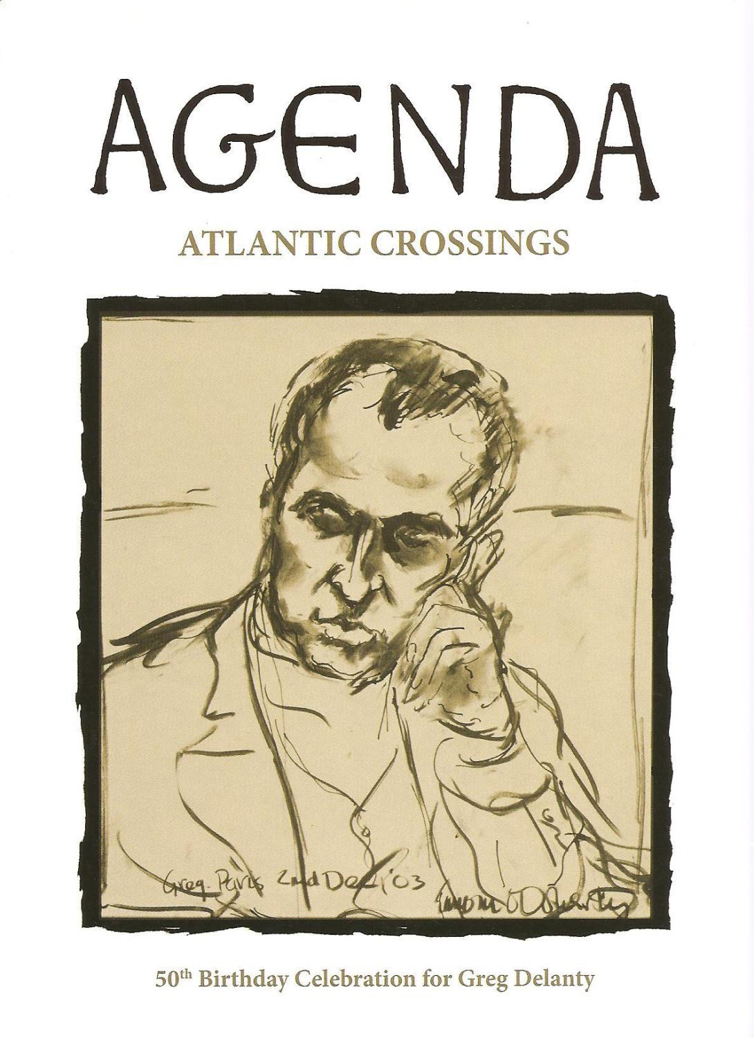 Agenda - Atlantic Crossings